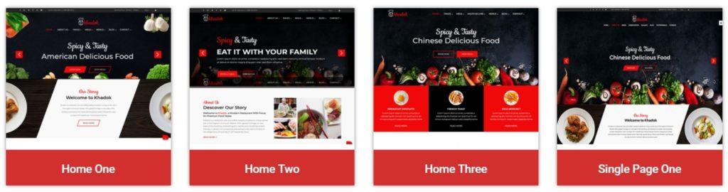 HTML шаблоны ресторан с онлайн-бронированием столиков 06