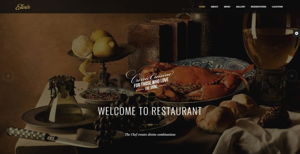 HTML шаблоны ресторан с онлайн-бронированием столиков 14