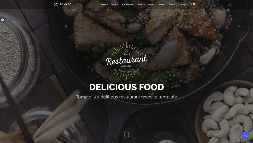 HTML шаблоны ресторан с онлайн-бронированием столиков 18