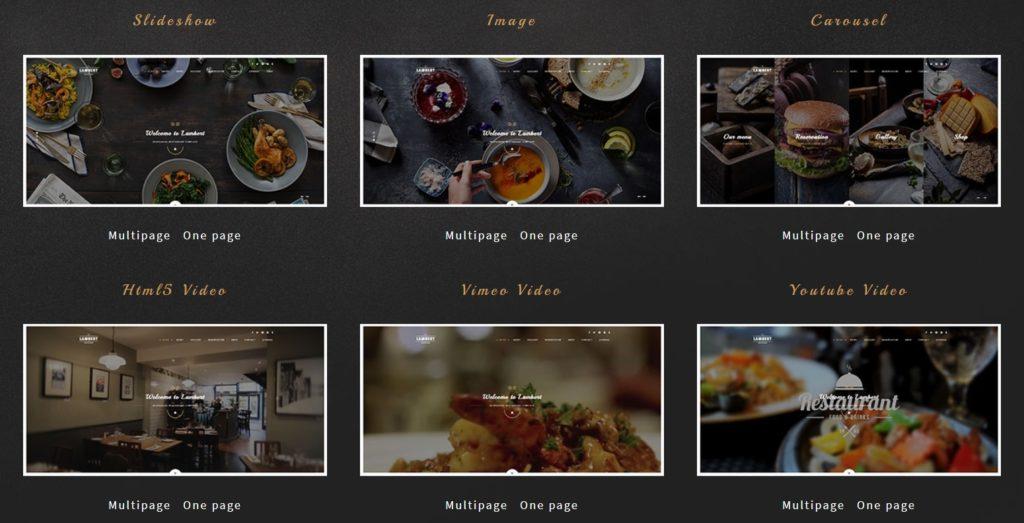 HTML шаблоны ресторан с онлайн-бронированием столиков 19