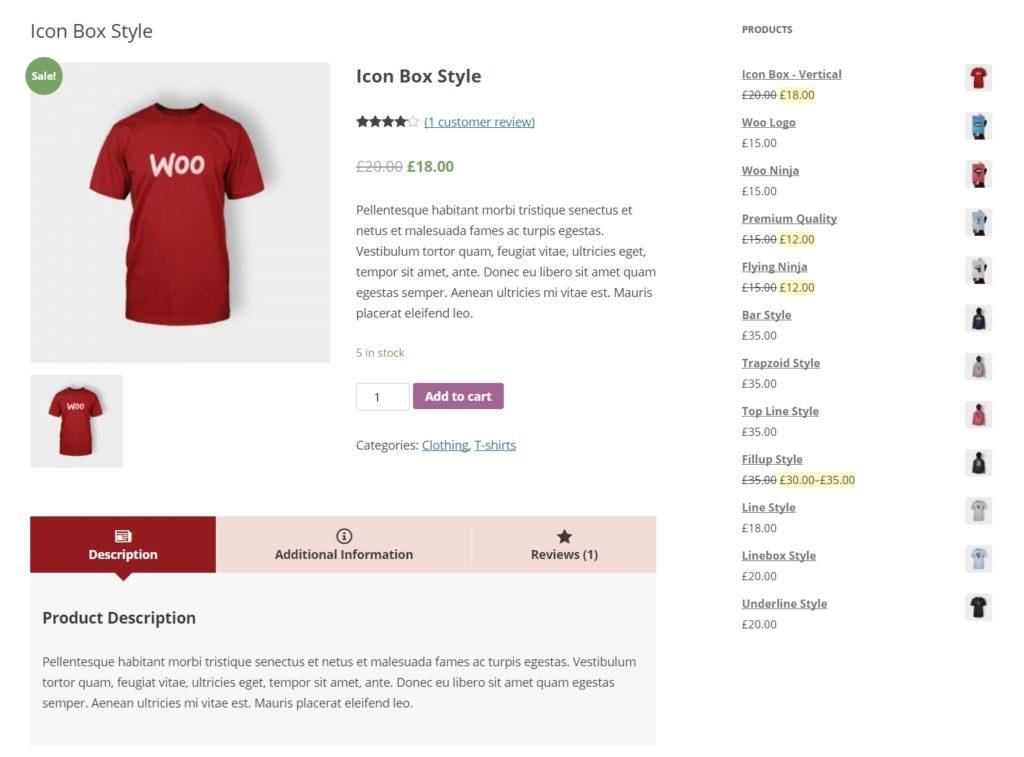 вкладки WooCommerce для товаров и каталога интернет-магазина 05