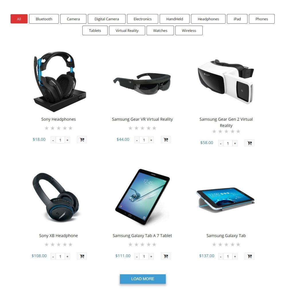 вкладки WooCommerce для товаров и каталога интернет-магазина 06
