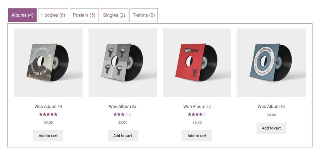 вкладки WooCommerce для товаров и каталога интернет-магазина 07