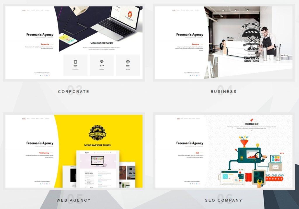 дизайн Вордпресс: Премиум макеты, верстка, шаблоны и курсы 16