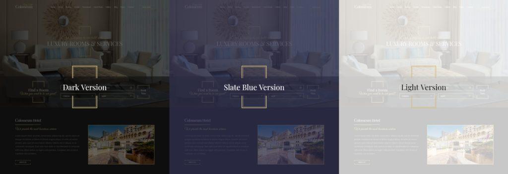 шаблон сайта гостиницы HTML с онлайн-поиском номеров 05