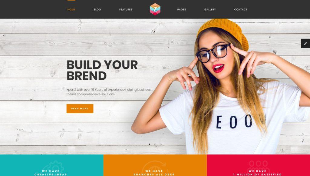 шаблон сайта компании HTML с премиальным дизайном 05