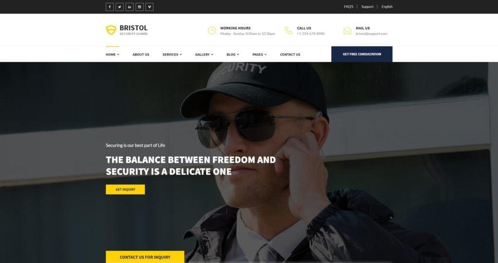 шаблон сайта компании HTML с премиальным дизайном 12