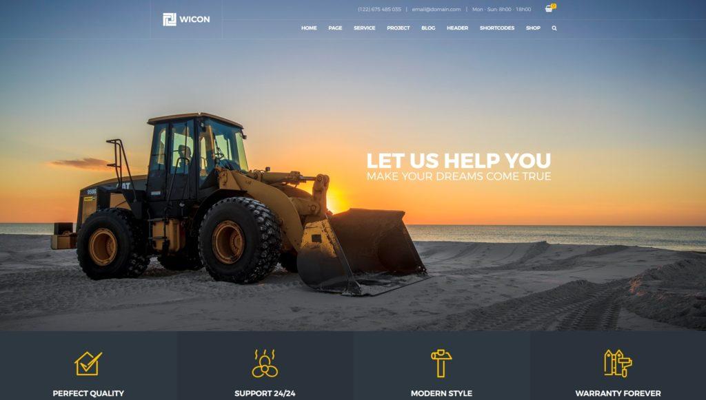 шаблон сайта компании HTML с премиальным дизайном 13