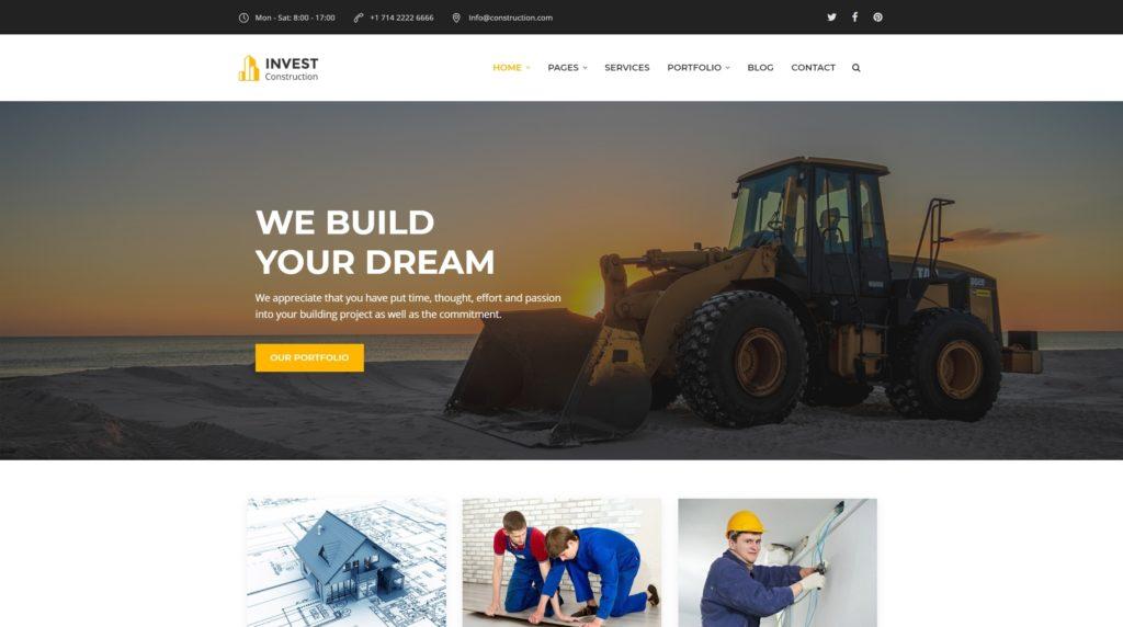 шаблон сайта компании HTML с премиальным дизайном 15
