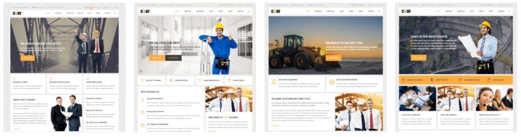 шаблон сайта компании HTML с премиальным дизайном 16