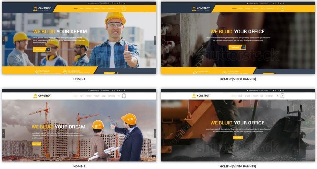 шаблон сайта компании HTML с премиальным дизайном 17