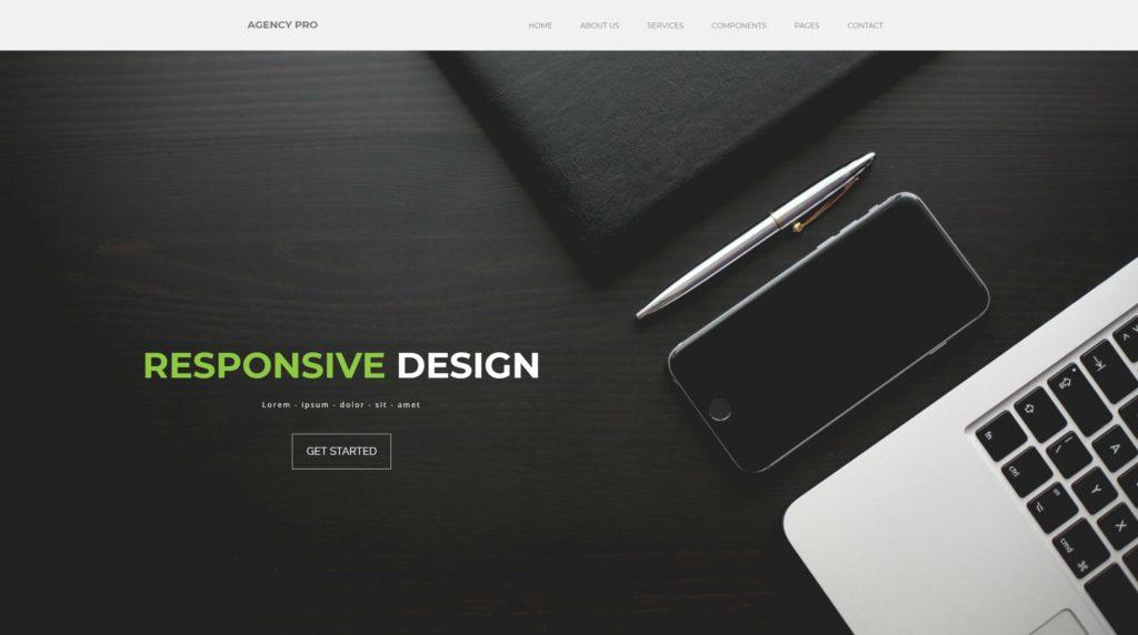 шаблон сайта компании HTML с премиальным дизайном 20