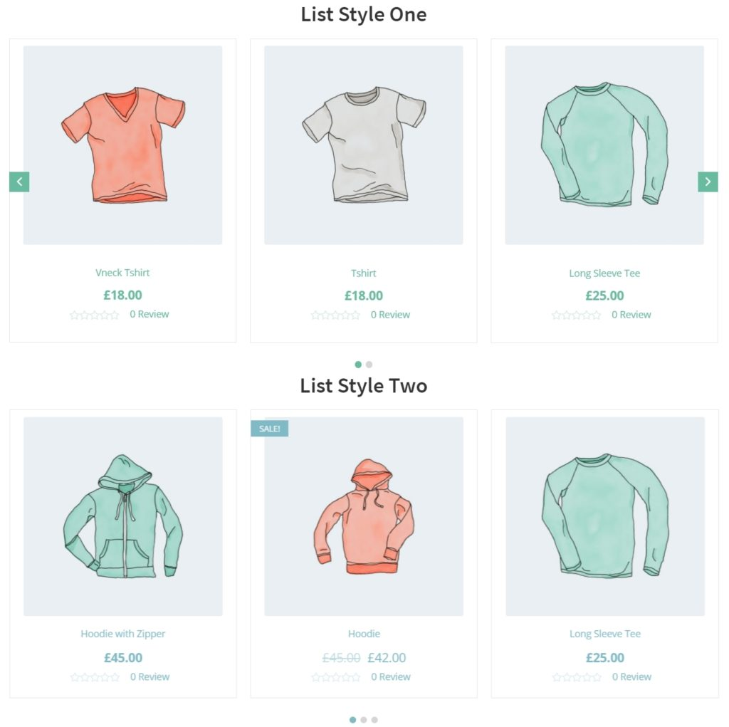 WooCommerce сетка товаров для красивого представления ассортимента 08