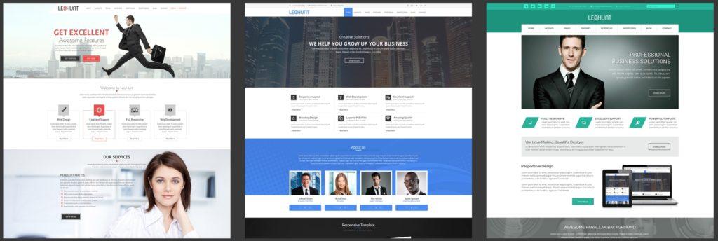 макеты сайтов HTML с возможностью разработки под любую платформу 03
