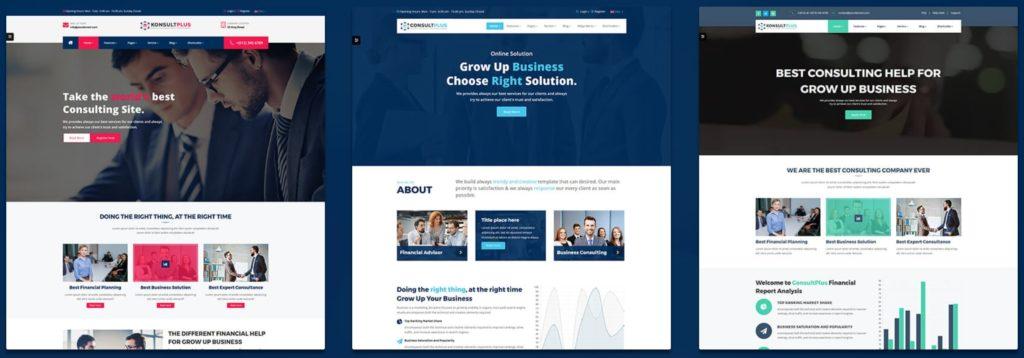 макеты сайтов HTML с возможностью разработки под любую платформу 05