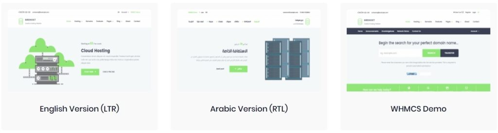 макеты сайтов HTML с возможностью разработки под любую платформу 12