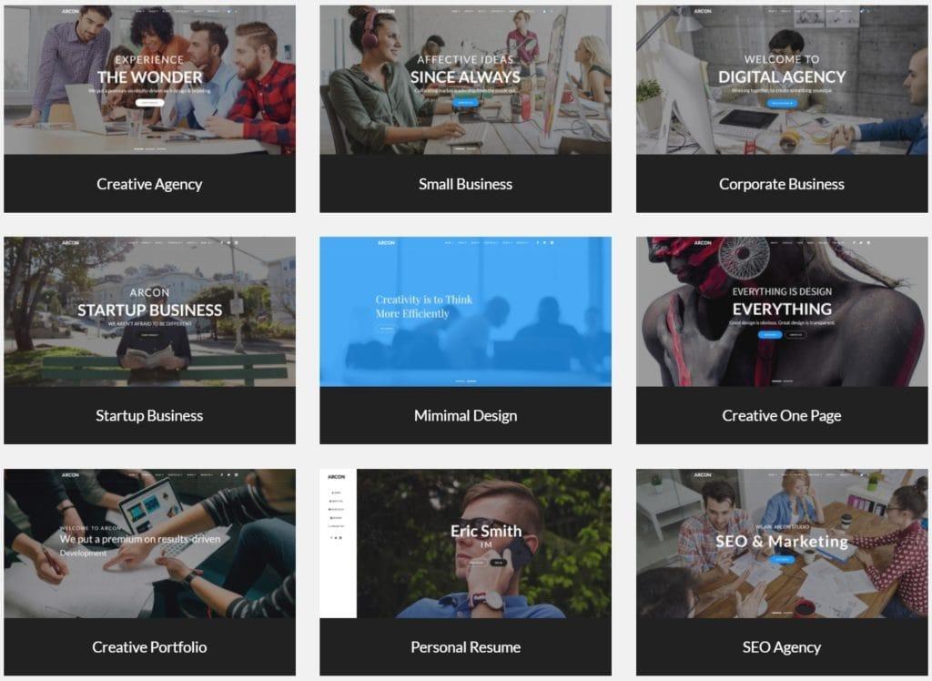 макеты сайтов HTML с возможностью разработки под любую платформу 17