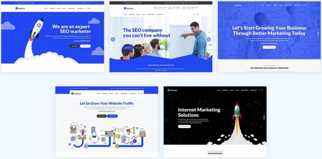 макеты сайтов HTML с возможностью разработки под любую платформу 20