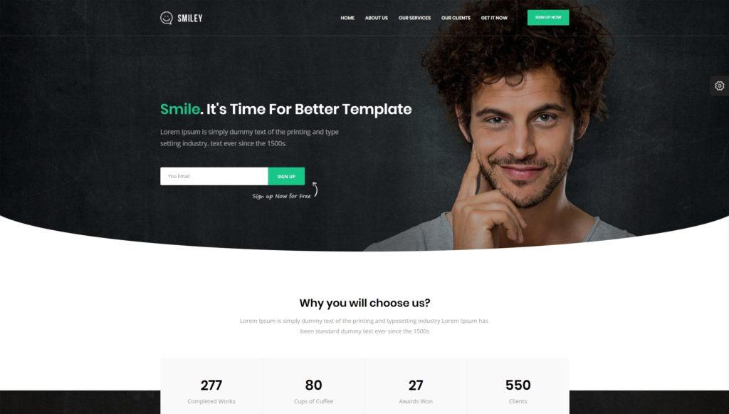 макеты сайтов HTML с возможностью разработки под любую платформу 30