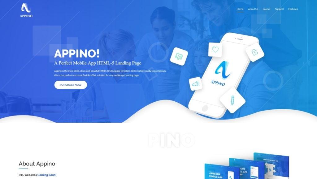 макеты сайтов HTML с возможностью разработки под любую платформу 35