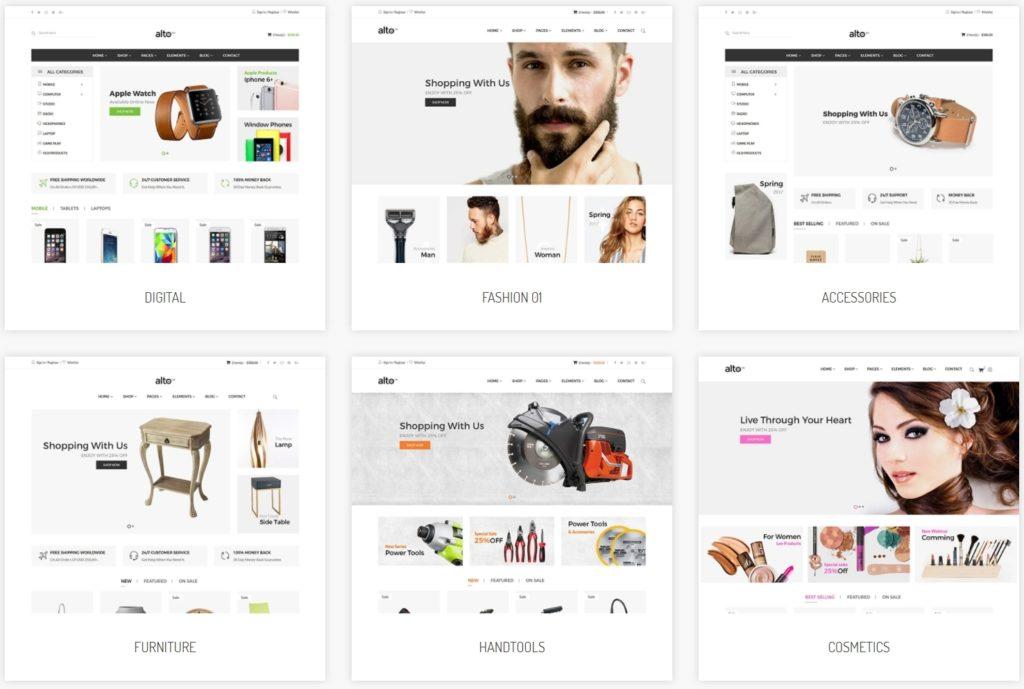 макеты сайтов HTML с возможностью разработки под любую платформу 42