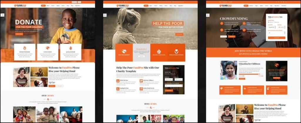 макеты сайтов HTML с возможностью разработки под любую платформу 47