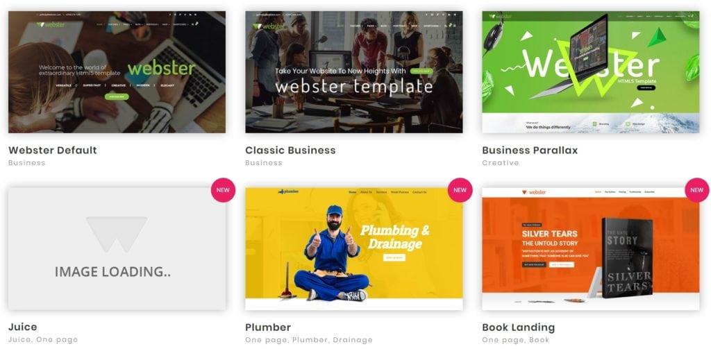 Топ 100 адаптивные HTML шаблоны для бизнеса, портфолио, блога и магазина 01