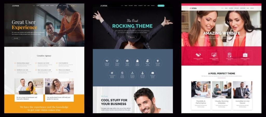 Топ 100 адаптивные HTML шаблоны для бизнеса, портфолио, блога и магазина 09