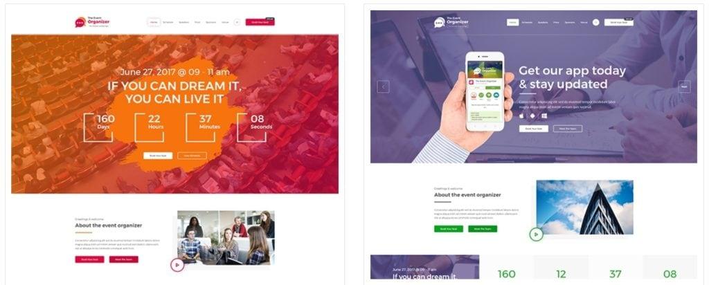 Топ 100 адаптивные HTML шаблоны для бизнеса, портфолио, блога и магазина 21