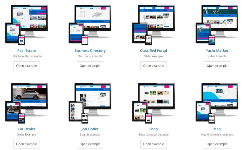 Топ 100 адаптивные HTML шаблоны для бизнеса, портфолио, блога и магазина 27