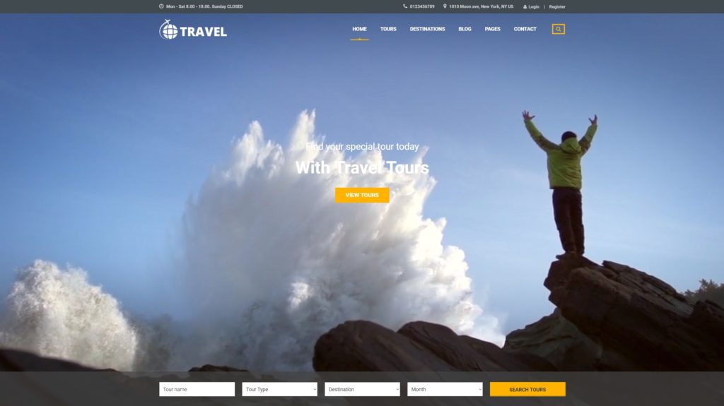Топ 100 адаптивные HTML шаблоны для бизнеса, портфолио, блога и магазина 31