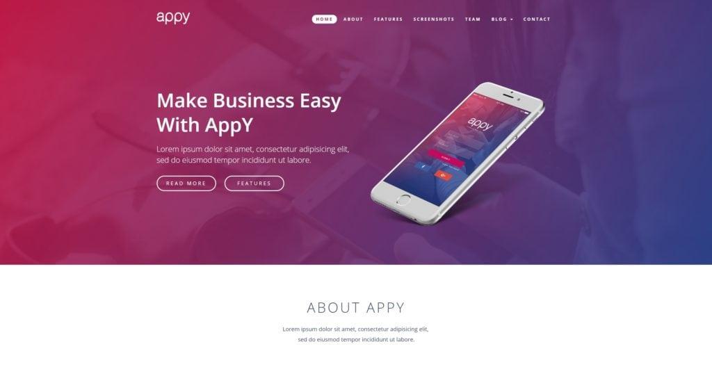 Топ 100 адаптивные HTML шаблоны для бизнеса, портфолио, блога и магазина 67