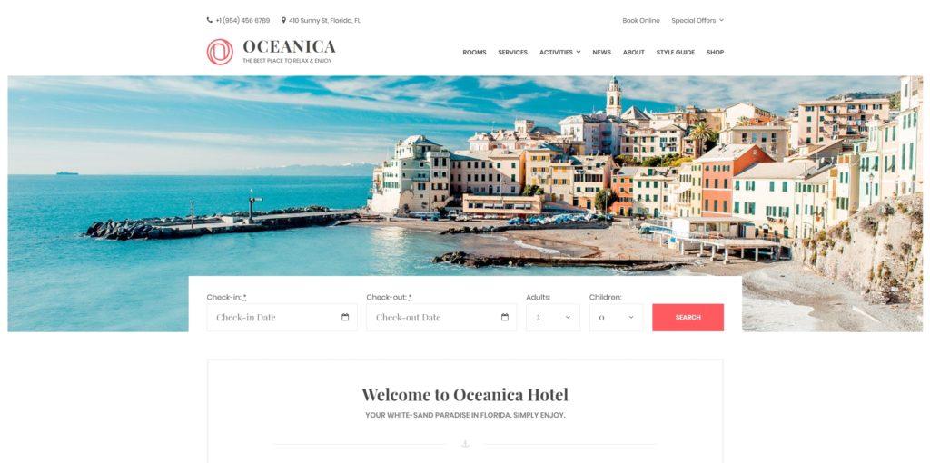 шаблон сайта бронирования для отелей, турфирм и сайтов-директорий 06