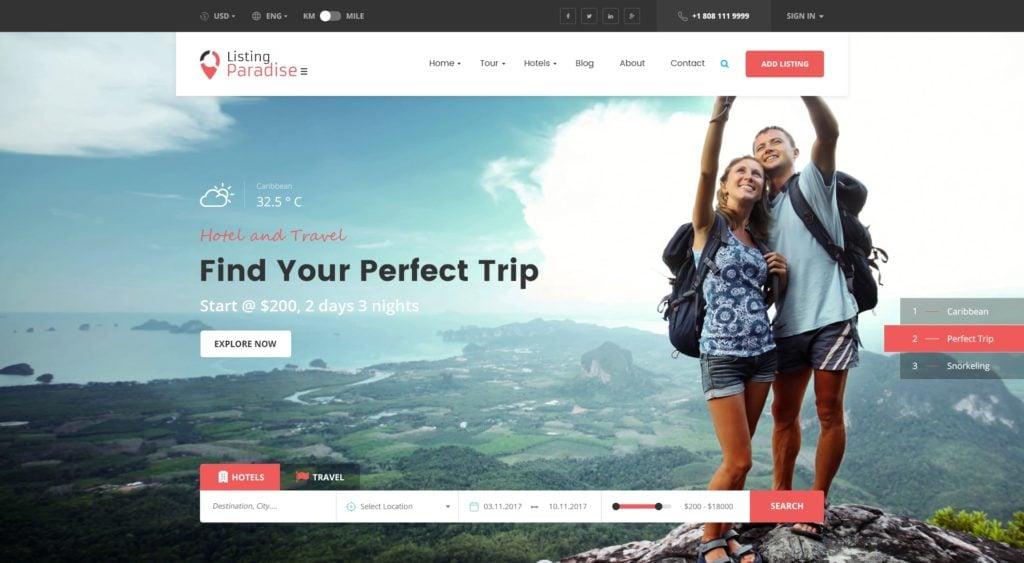 PSD макеты сайтов – 50 дизайнерских концепций для вашего бизнеса 12