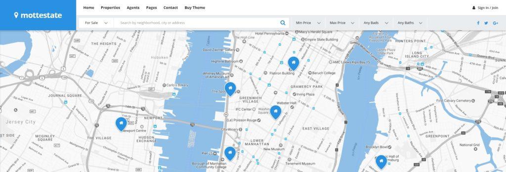PSD макеты сайтов – 50 дизайнерских концепций для вашего бизнеса 14