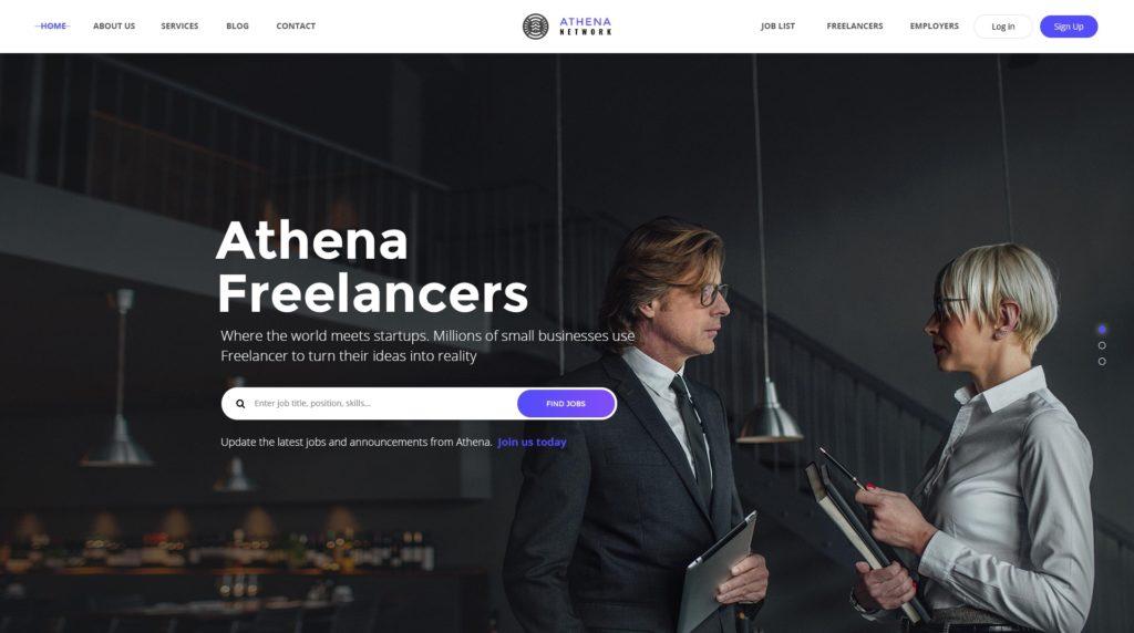 PSD макеты сайтов – 50 дизайнерских концепций для вашего бизнеса 15