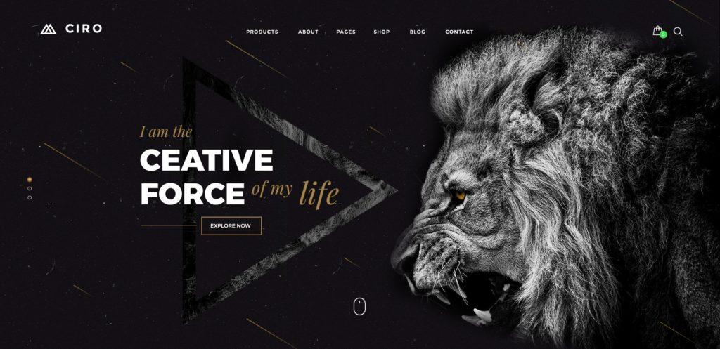 PSD макеты сайтов – 50 дизайнерских концепций для вашего бизнеса 23
