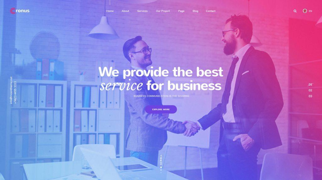 PSD макеты сайтов – 50 дизайнерских концепций для вашего бизнеса 26