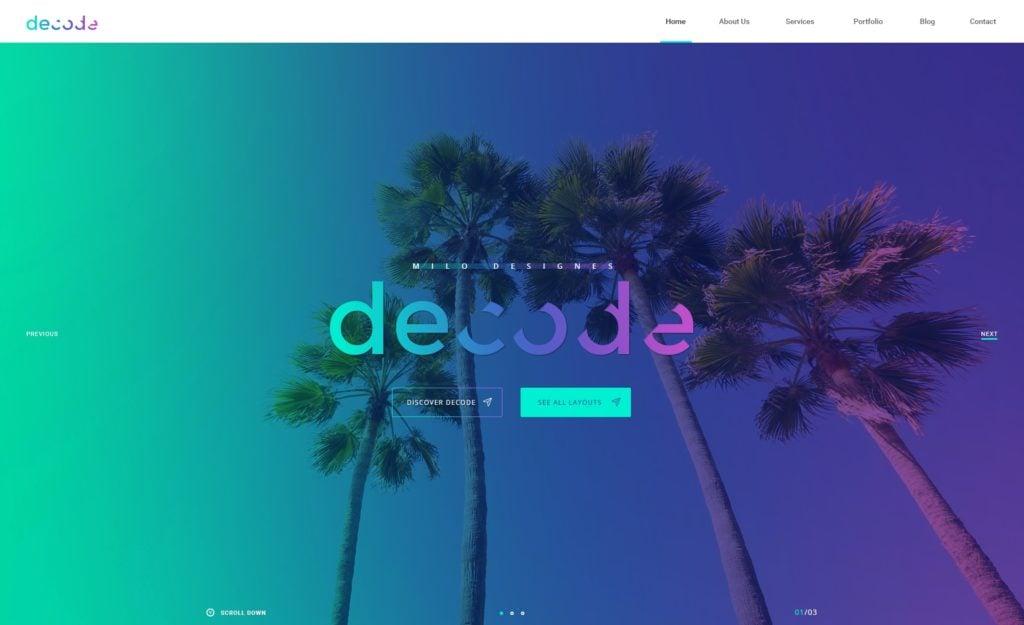 PSD макеты сайтов – 50 дизайнерских концепций для вашего бизнеса 28