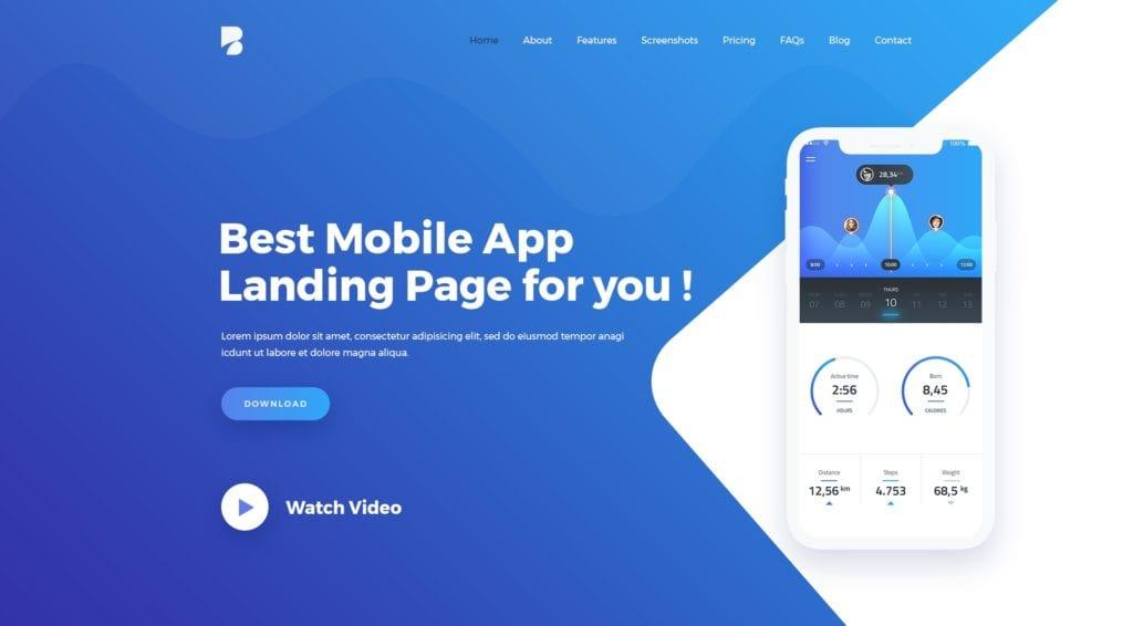 PSD макеты сайтов – 50 дизайнерских концепций для вашего бизнеса 38