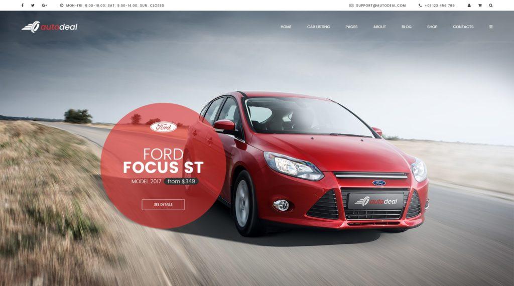 PSD макеты сайтов – 50 дизайнерских концепций для вашего бизнеса 42