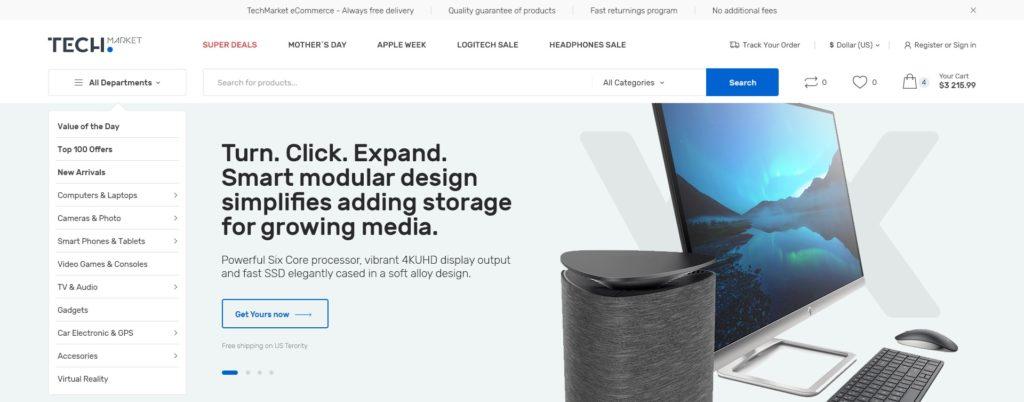 PSD макеты сайтов – 50 дизайнерских концепций для вашего бизнеса 43