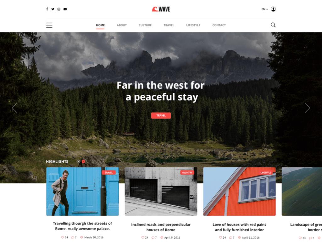 PSD макеты сайтов – 50 дизайнерских концепций для вашего бизнеса 46