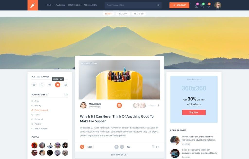 PSD макеты сайтов – 50 дизайнерских концепций для вашего бизнеса 50