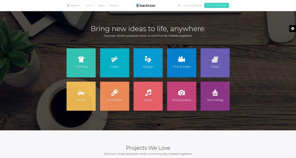 WordPress краудфандинг: Создаем сайт для эффективного запуска стартапов 03