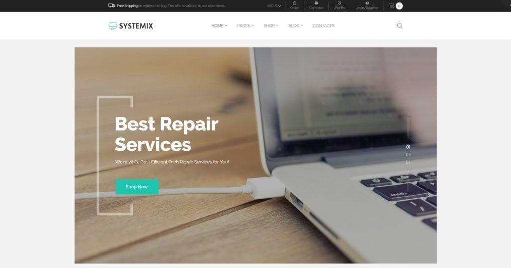 готовый интернет магазин на WordPress купить и создать 03