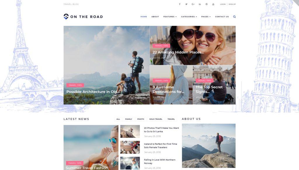 русские WordPress туризм шаблоны с онлайн бронированием 13