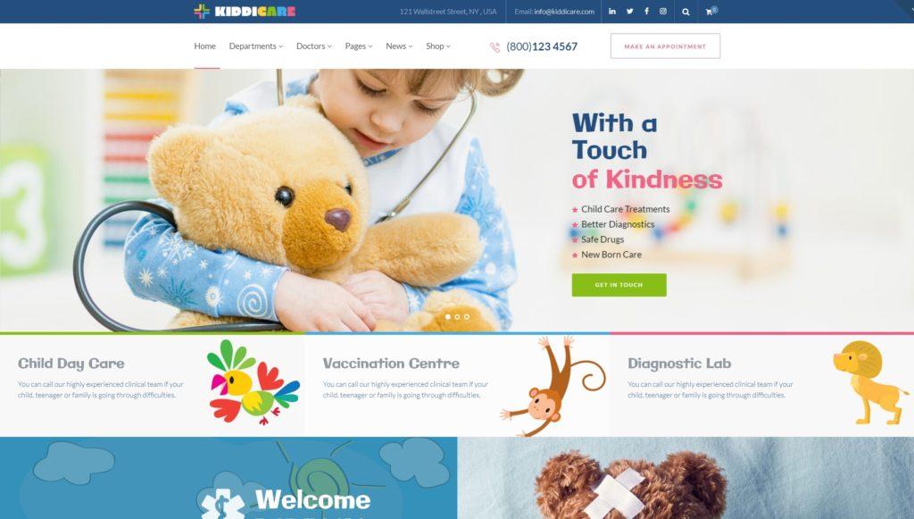 русские WordPress шаблоны медицина с онлайн-записью на прием 12