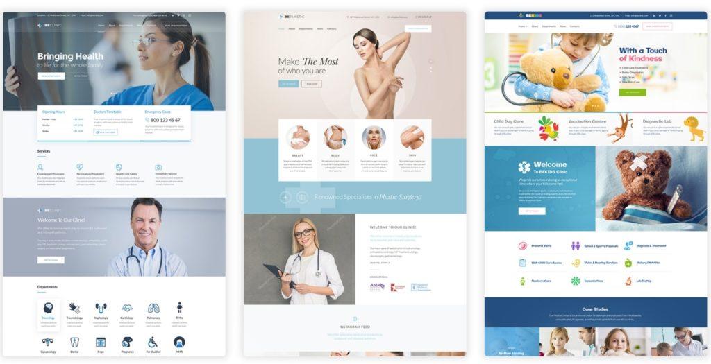 русские WordPress шаблоны медицина с онлайн-записью на прием 13
