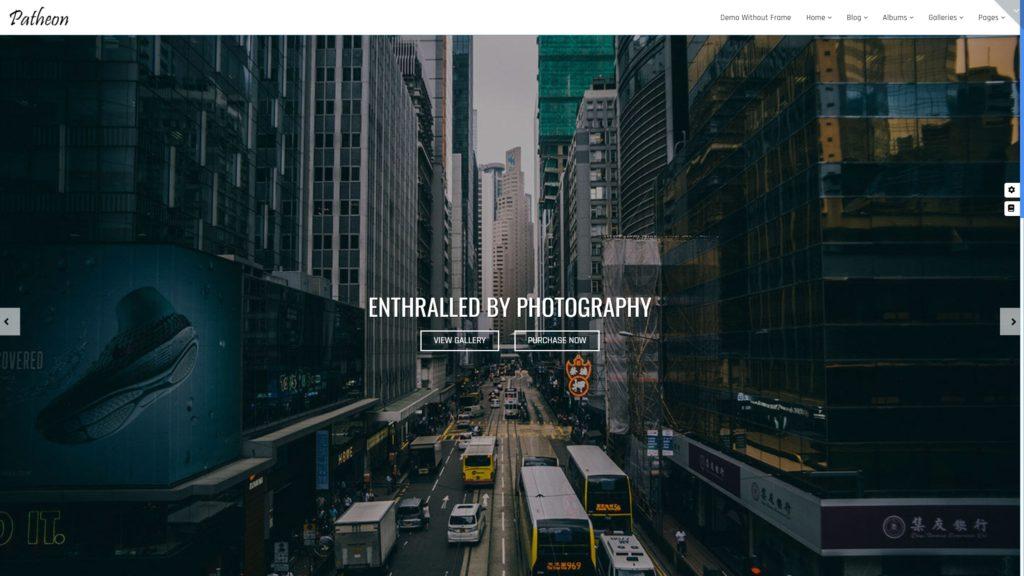 шаблон сайта фотографа с красивой галереей, портфолио и блогом для начинающих и профессионалов 18